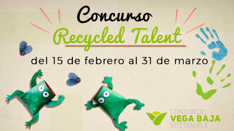 The Vega Baja Sustainable Consortium launches the first children's recycling contest 'Recycled Talent'