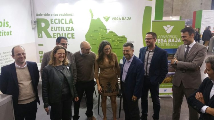 Oltra is committed to Pineda to solve the problem of waste management in the region of Vega Baja