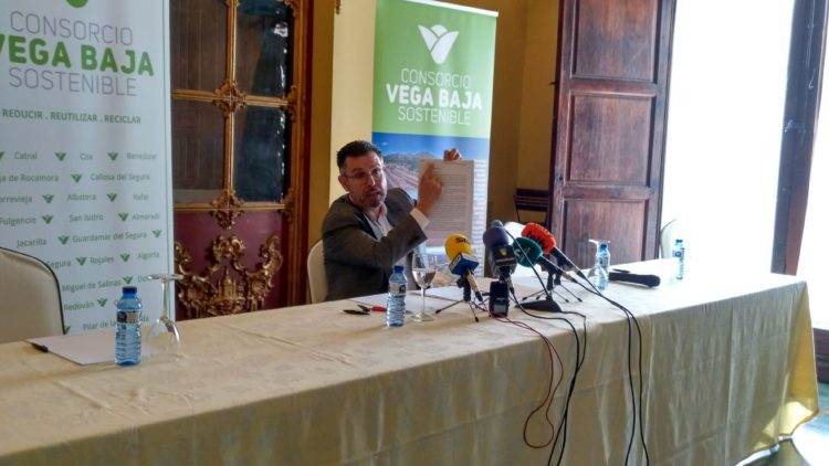 Statement from the president of the Vega Baja Sostenible Consortium, Manuel Pineda