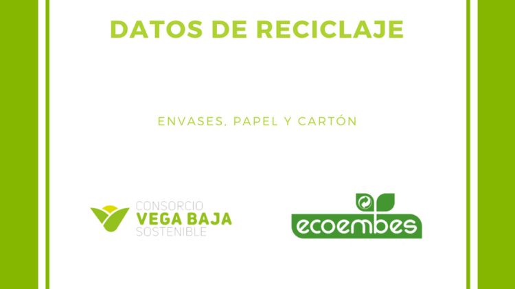 The Consortium publishes on its website data on recycling of packaging, paper and cardboard provided by Ecoembes