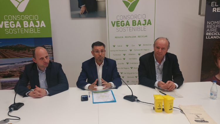 Generalitat, Vega Baja Sostenible and Ecoembes start the campaign 'The Recycling Challenge' in the region