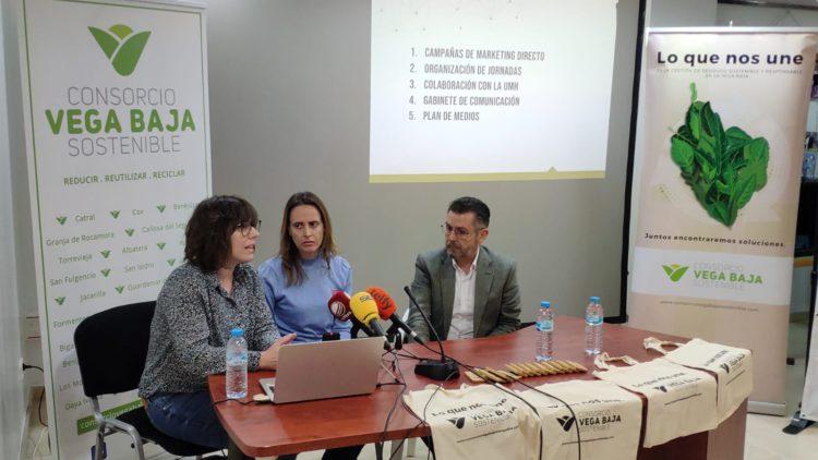 Vega Baixa Sostenible presenta un pla per al foment del reciclatge i la separació de residus a la comarca