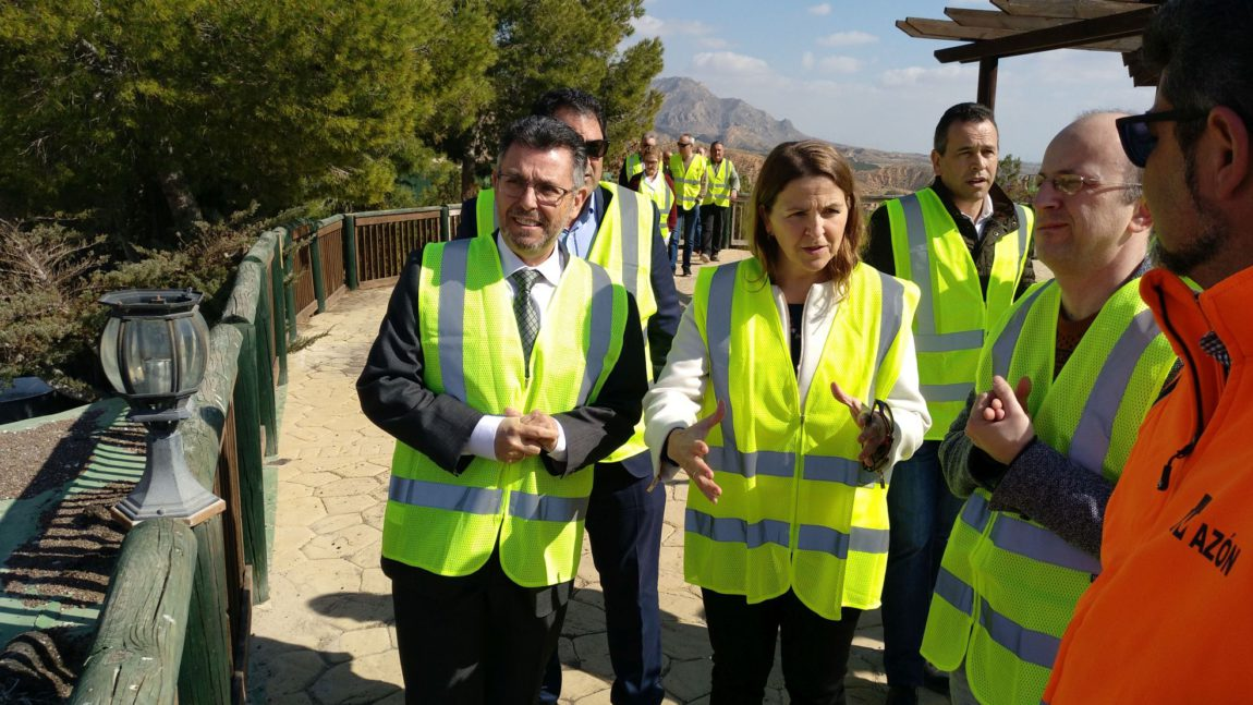 The sealing works in the old dump of La Murada will finish approximately in the month of April
