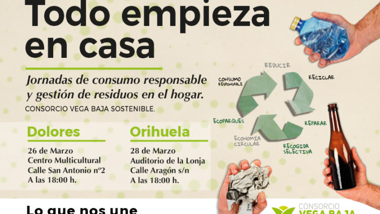 The Vega Baja Sostenible Consortium launches a series of responsible consumption and waste management