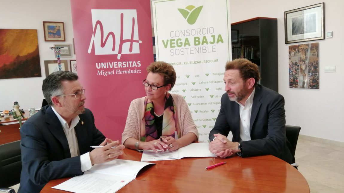 Vega Baja Sostenible announces a scholarship for students of the Master in Management of Organic Waste of the UMH