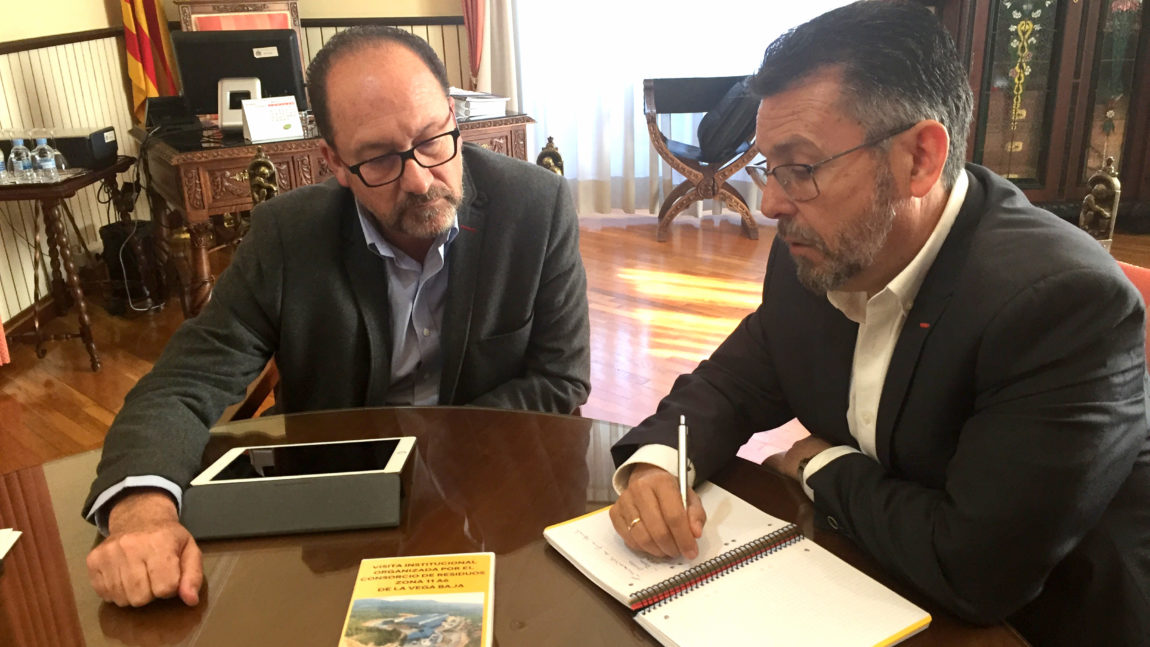 The Consortium is committed to tender the floor for the transfer plant that will go to Orihuela